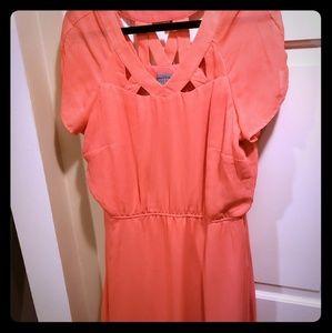 Size 16 Orange Rabbit Rabbit Rabbit Dress